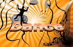 Dança, partido Imagem de Stock