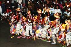 Dança popular brasileira Fotos de Stock Royalty Free