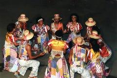 Dança popular brasileira Imagem de Stock Royalty Free