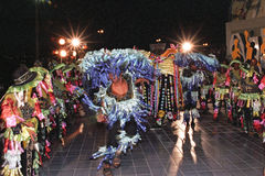 Dança popular brasileira Foto de Stock