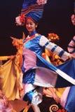 Dança popular chinesa Foto de Stock