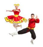 Dança popular do russo Foto de Stock