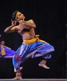 Dança popular indiana Fotos de Stock