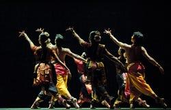 Dança popular indiana Foto de Stock Royalty Free