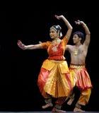 Dança popular indiana Imagens de Stock Royalty Free