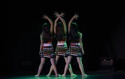 Dança popular nacional do copiador- de AVA imagens de stock royalty free