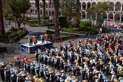 Dança popular peruana Fotografia de Stock Royalty Free