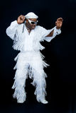 Dança preta Fotografia de Stock
