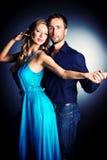 Dança romântica Imagem de Stock Royalty Free