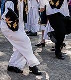 Dança sérvio 5 Imagem de Stock Royalty Free