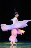 Dança saia-nacional colorida de voo Imagem de Stock