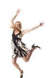 Dança selvagem fotografia de stock royalty free
