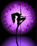 Dança 'sexy' do pólo Foto de Stock Royalty Free