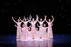 Dança surda da linguagem gestual foto de stock royalty free
