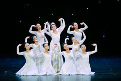 Dança surda da linguagem gestual fotografia de stock
