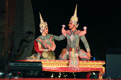 Dança tailandesa Fotografia de Stock Royalty Free