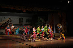 Dança tailandesa Imagem de Stock