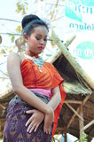 Dança tailandesa foto de stock royalty free