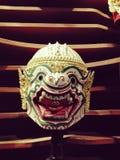 Dança tailandesa clássica do khon de Hanuman Tailândia imagem de stock royalty free