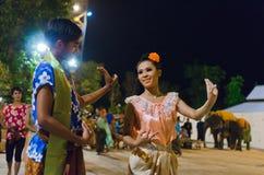 Dançarino tailandês Fotografia de Stock