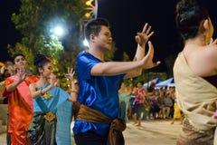 Dançarino tailandês Fotografia de Stock Royalty Free