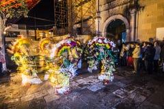 Dança tradicional Fotos de Stock Royalty Free