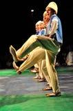 Dança tradicional - Bulgária Imagens de Stock