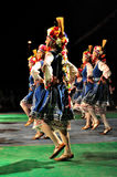 Dança tradicional - Bulgária Fotografia de Stock Royalty Free