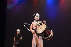 Dança tradicional coreana Fotos de Stock Royalty Free