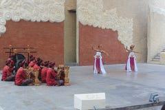 Dança tradicional do barong Imagens de Stock