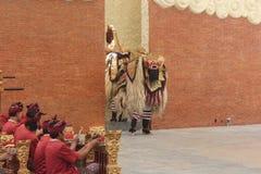 Dança tradicional do barong Imagens de Stock Royalty Free