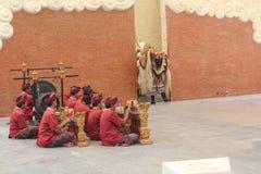Dança tradicional do barong Fotografia de Stock Royalty Free