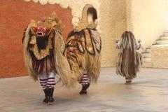 Dança tradicional do barong Fotos de Stock Royalty Free