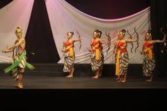 Dança tradicional do Javanese Imagem de Stock Royalty Free