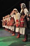 Dança tradicional - Macedónia Fotos de Stock Royalty Free