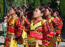 Dança tribal que canta Filipinas Fotografia de Stock