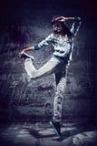 Dança urbana Imagem de Stock