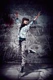 Dança urbana Foto de Stock Royalty Free