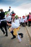 Dança Verbunk de Starek imagens de stock royalty free