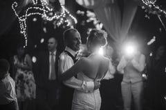 Dança Wedding Fotografia de Stock Royalty Free