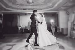 Dança Wedding Imagem de Stock