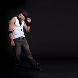 Dançarino à moda novo Fotografia de Stock Royalty Free