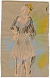 Dançarino 2 da bailarina Imagem de Stock Royalty Free