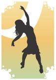 Dançarino ilustração stock