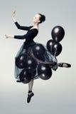 Dançarino aéreo Imagens de Stock Royalty Free