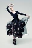 Dançarino aéreo Fotos de Stock Royalty Free