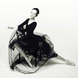 Dançarino aéreo Fotografia de Stock