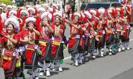 Dançarino aborígene Fotografia de Stock Royalty Free