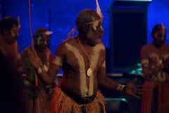 Dançarino aborígene imagem de stock