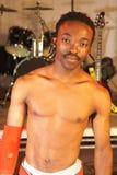 Dançarino africano de hip-hop do estilo livre Imagens de Stock
